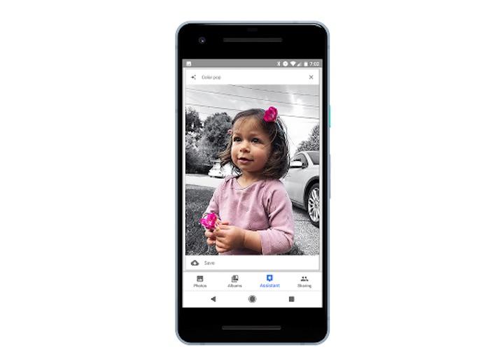 Google Photos Personne Couleur Fond Noir Et Blanc