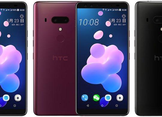 HTC U12 Plus Avant Arriere