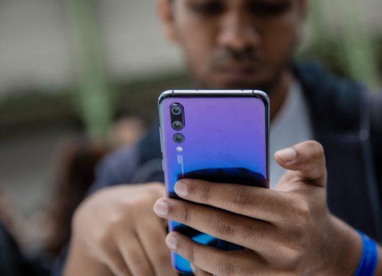 Huawei P20 Pro Arriere Triple Appareils Photo
