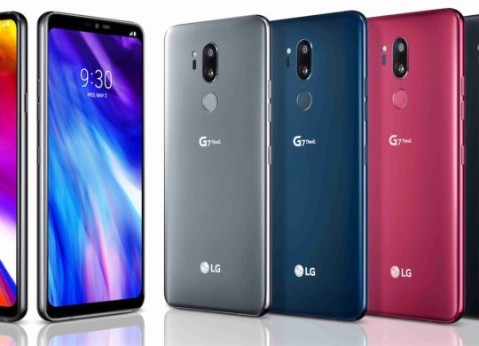 LG G7 ThinQ Officiel Avant Arriere