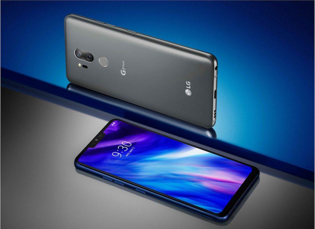 LG G7 ThinQ Officiel Avant Arriere Noir 1024x744