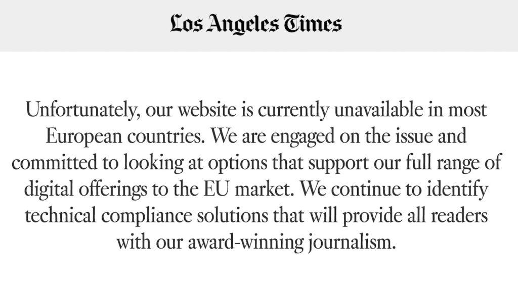 Los Angeles Times RGPD 1024x564