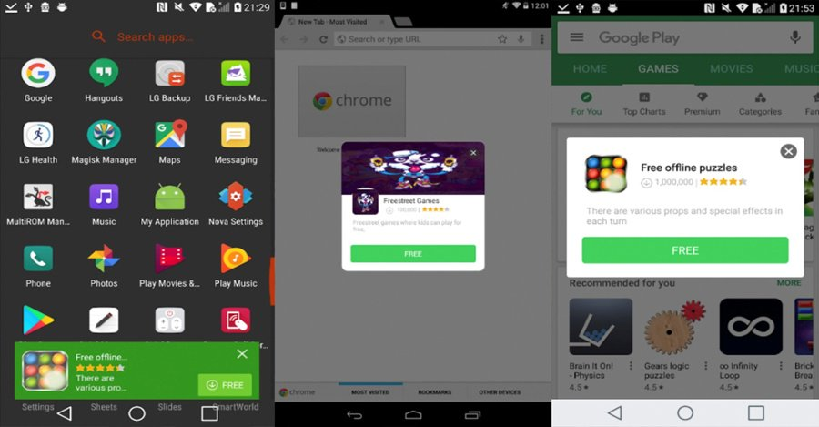 Malware Android Cosiloon