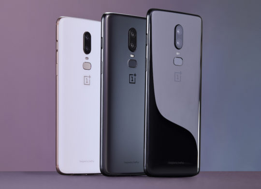 OnePlus 6 Arriere Couleurs