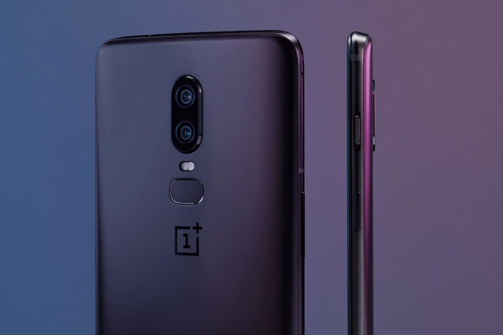 OnePlus 6 Officiel Arriere Cote Double Capteur Photo 1024x682