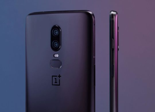 OnePlus 6 Officiel Arriere Cote Double Capteur Photo