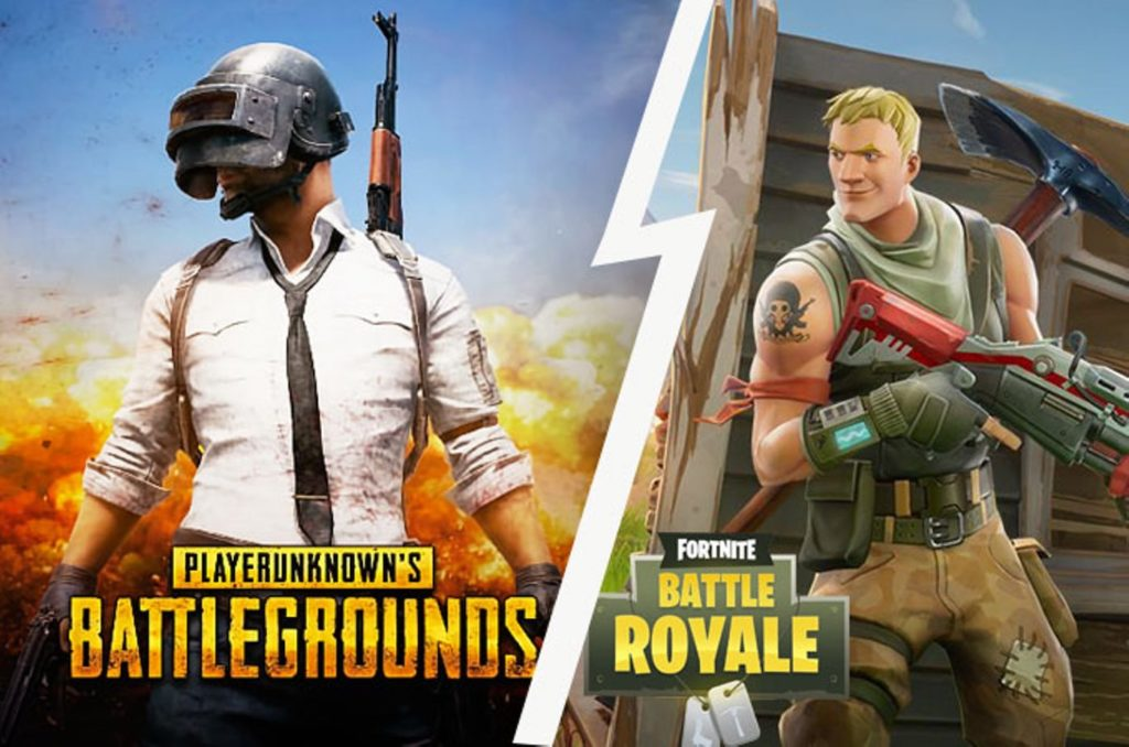 PUBG Vs Fortnite 1024x678