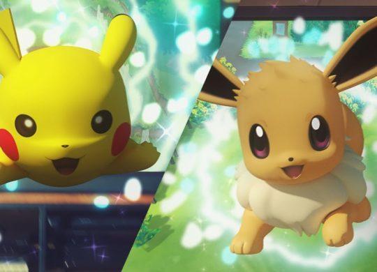 Pokemon Lets Go Pikachu et Evoli