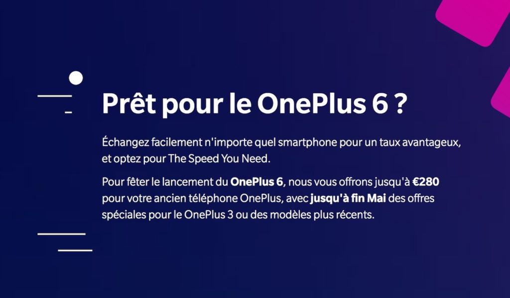 Programme Reprise OnePlus 6 1024x598