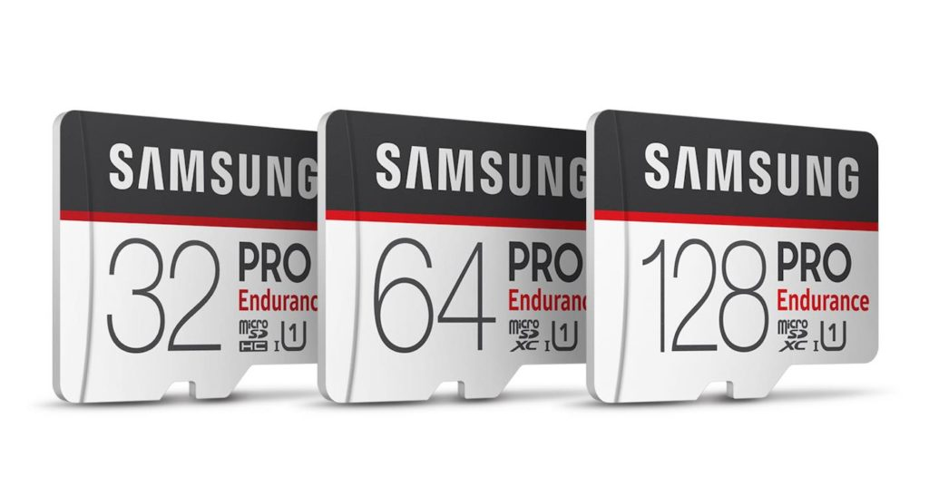 Samsung Cartes MicroSD PRO Endurance 1024x547