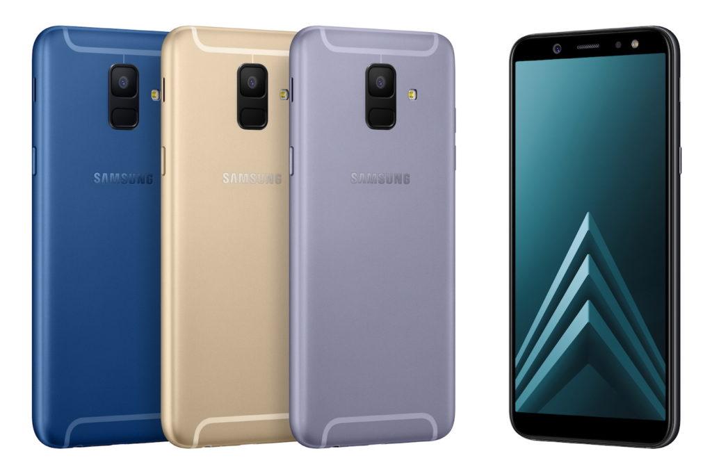 Samsung Galaxy A6 Officiel Avant Arriere 1024x682