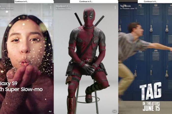 Snapchat Publicites 6 Secondes