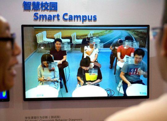 Surveillance Classe Reconnaissance Faciale Chine Comportements Eleves
