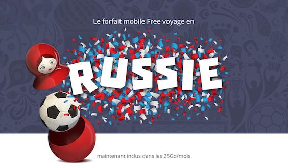 Roaming Free Russie