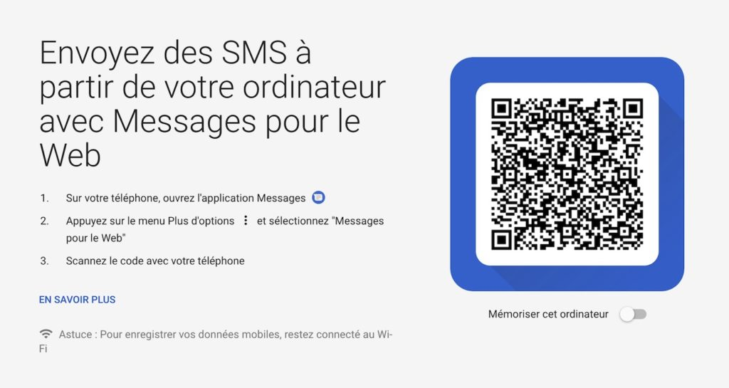 Android Messages SMS Web 1024x545