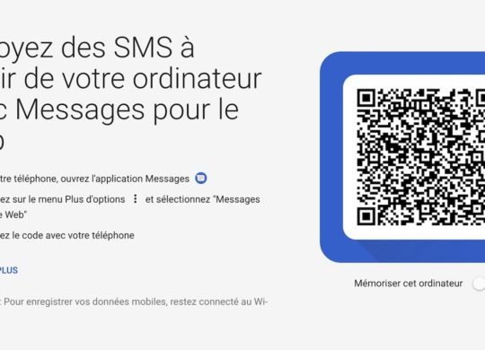 Android Messages SMS Web