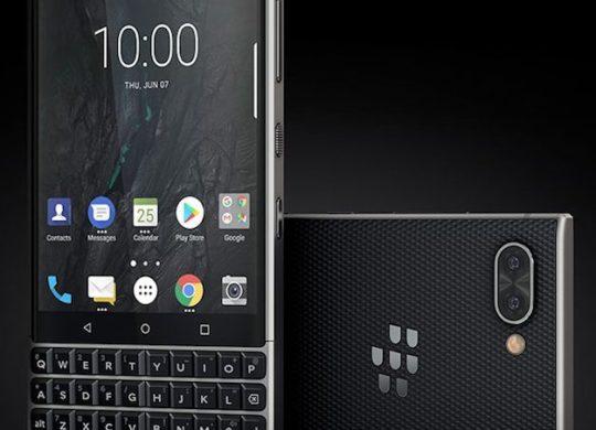 BlackBerry Key2 Avant Arriere 2