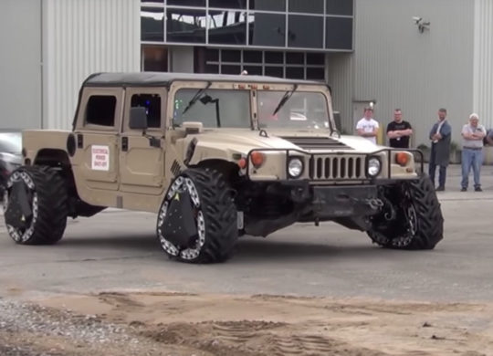 DARPA roues transformables
