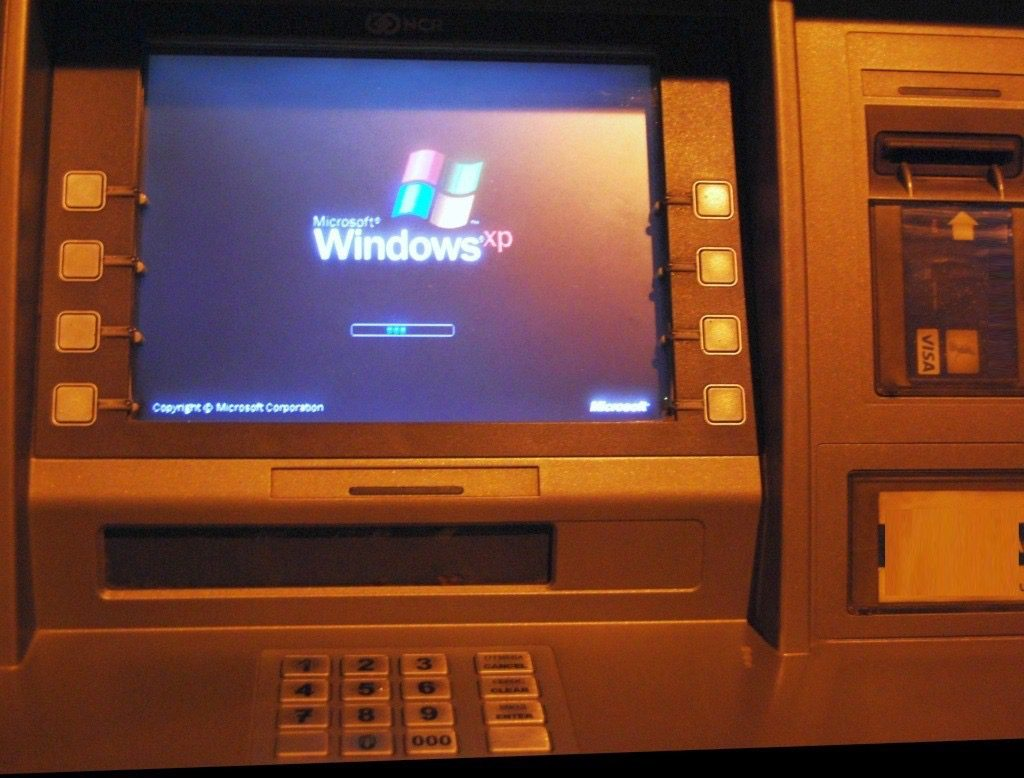 Distributeur Billets Windows XP 1024x778