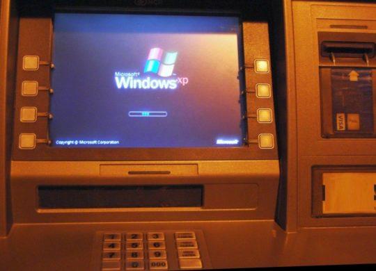 Distributeur Billets Windows XP