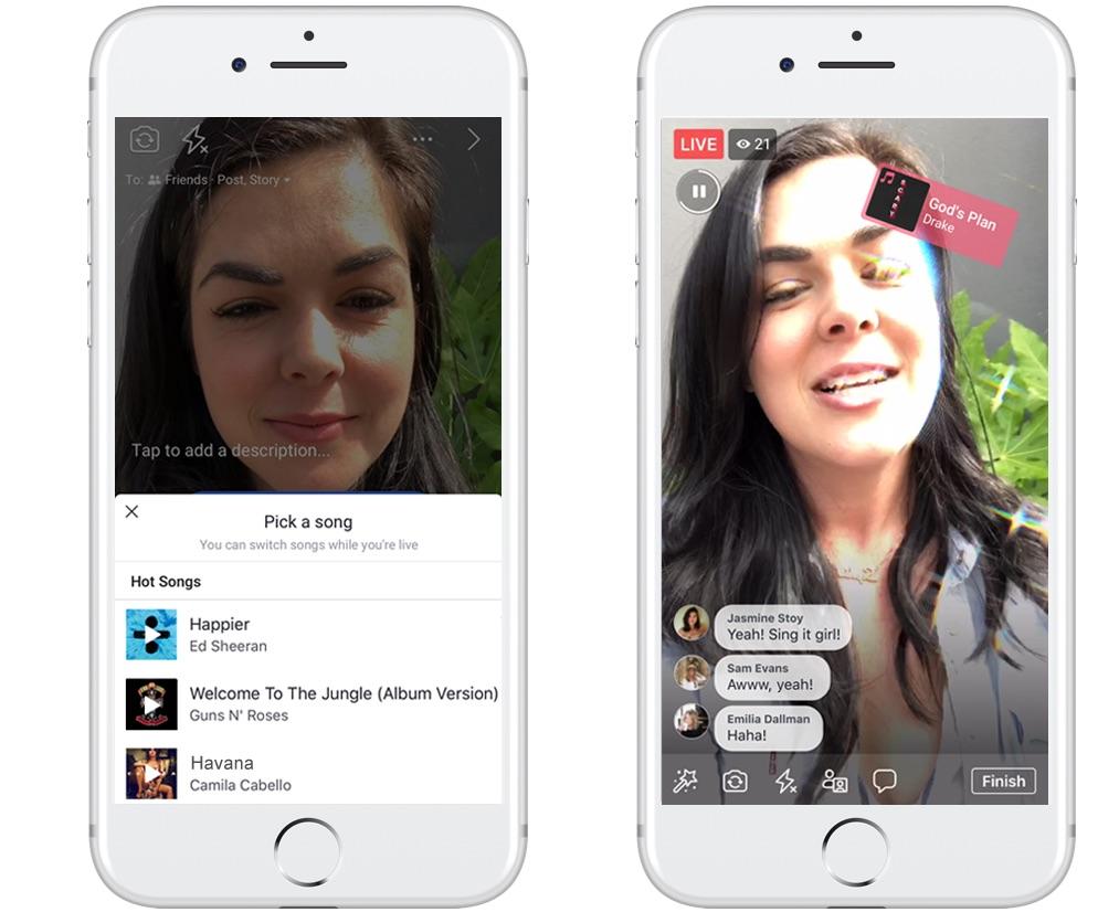 Facebook Lip Sync Live