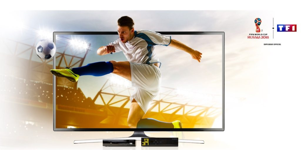 Freebox Mini 4K TF1 4K Coupe Du Monde Football 1024x511
