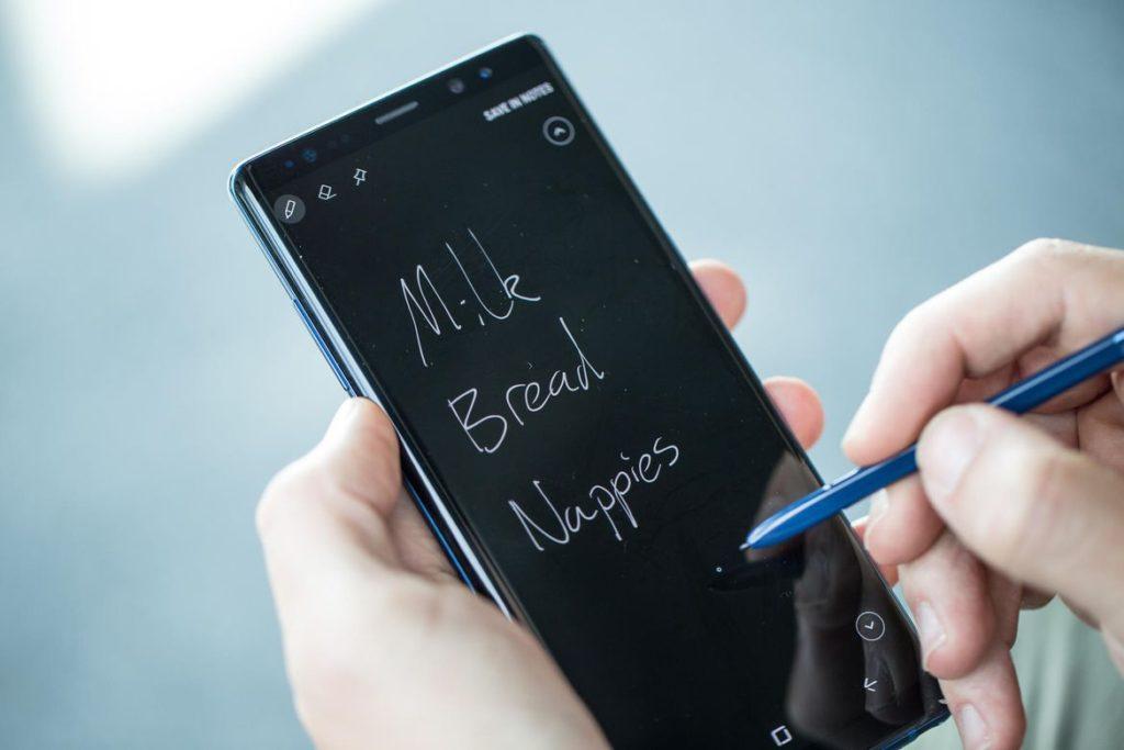 Galaxy Note 8 S Pen 1024x683