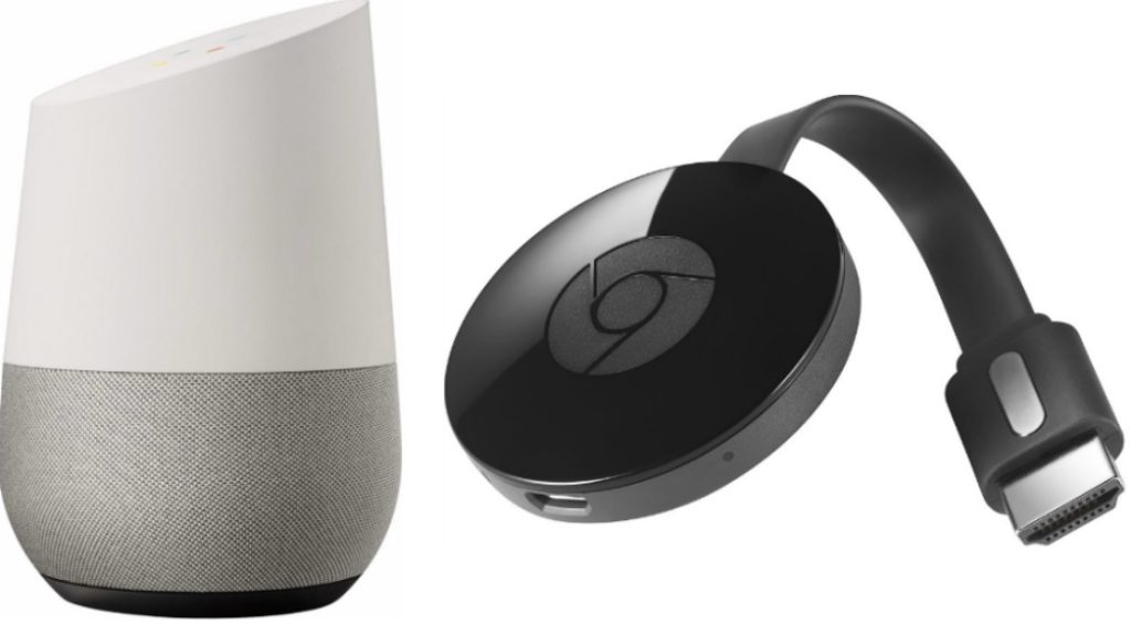 Google Home Vs Chromecast 1024x565