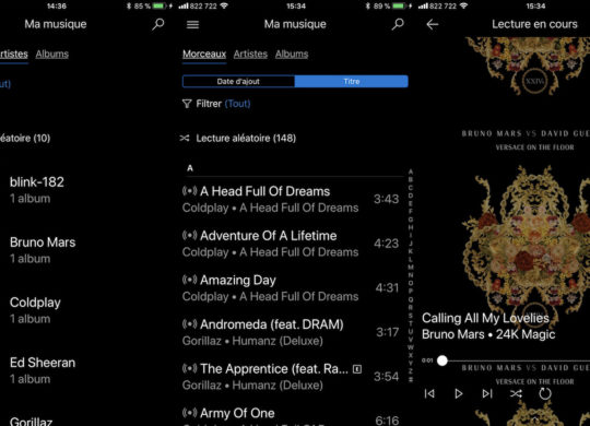 Groove Music Application iPhone