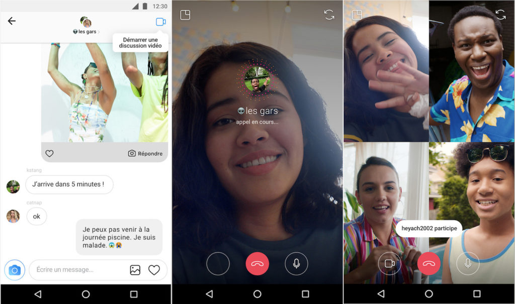 Instagram Appel Video Groupe 1024x605