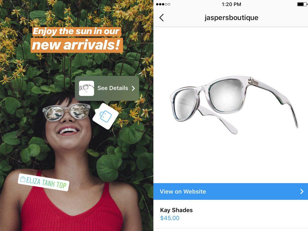 Instagram Stories Achat Produits 1024x768