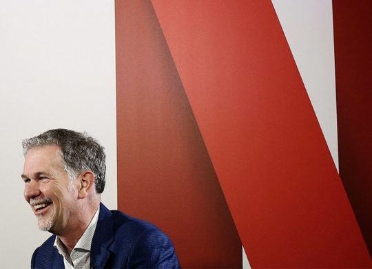 Netflix Logo Reed Hastings