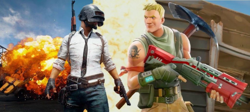 PUBG Vs Fortnite 1024x462