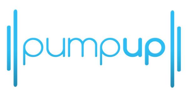 PumpUp Blue 12in 600x312
