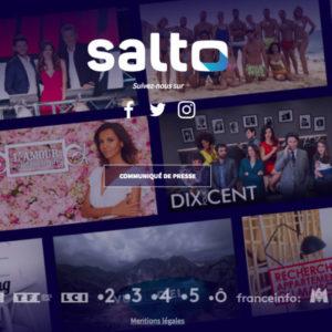 Image article Salto : TF1, France Télévisions et M6 triplent le budget de la plateforme de streaming