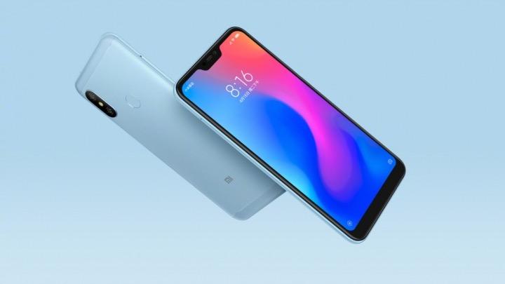 Xiaomi Redmi 6 Pro Avant Arriere Bleu