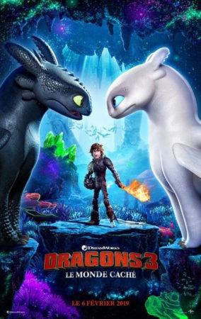 Dragons 3 Le Monde Cache Affiche Francaise 1023468 284x450