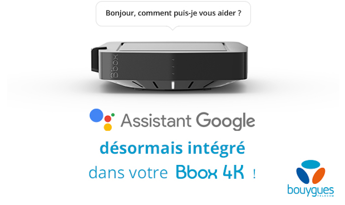 Bbox 4K Google Assistant
