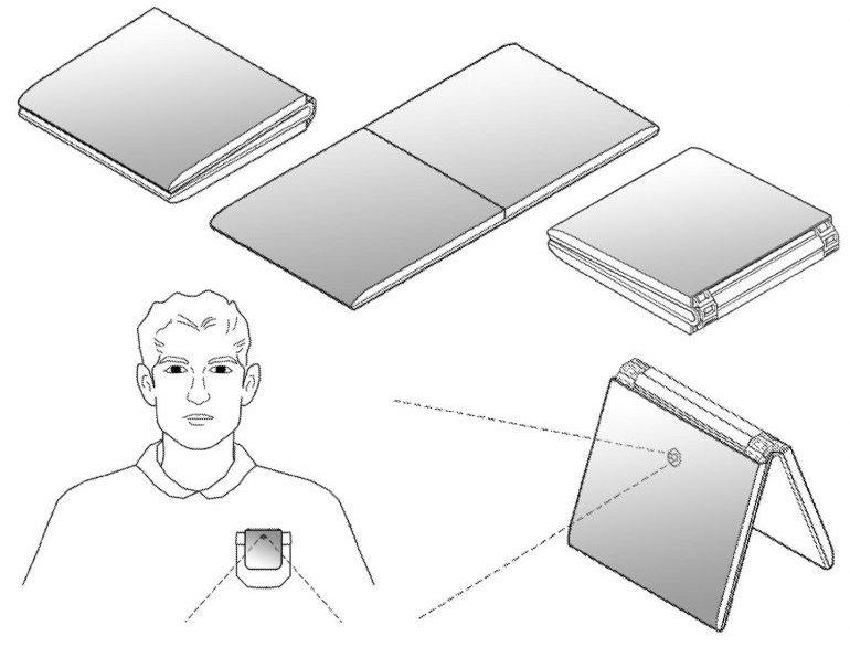 Brevet LG Smartphone Pliable 2