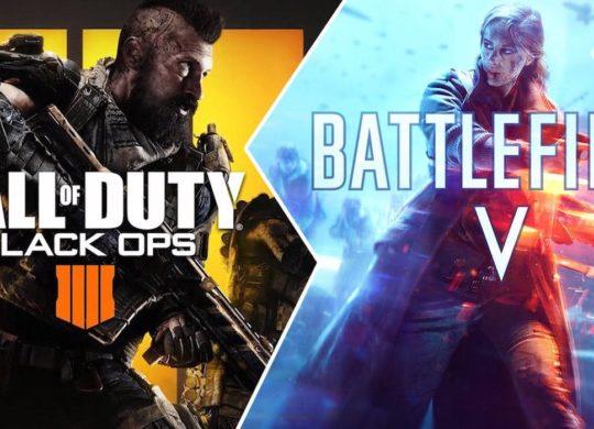 Call of Duty Black Ops 4 vs Battlefield 5