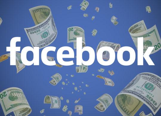 Facebook Argent Dollars