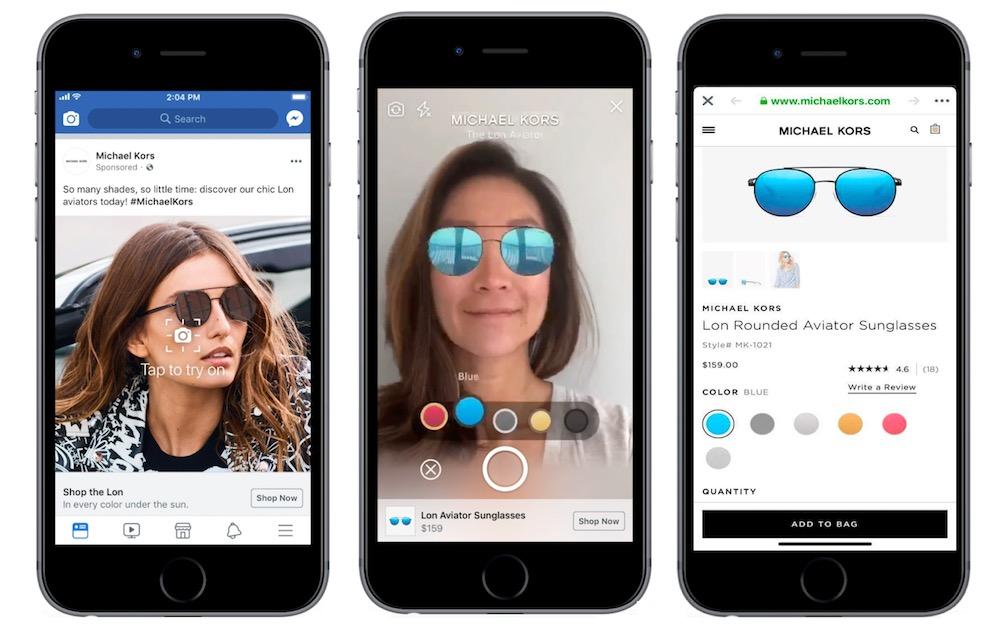 Facebook Publicites Realite Augmentee