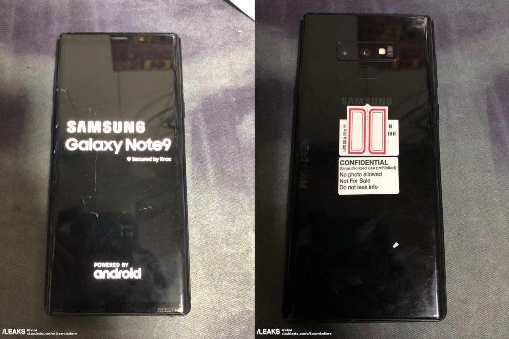 Fuite Galaxy Note 9 1 1024x682