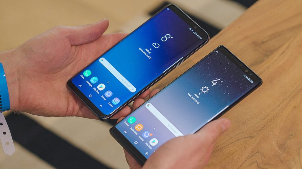 Galaxy S9 Plus Vs Galaxy Note 8 1024x576