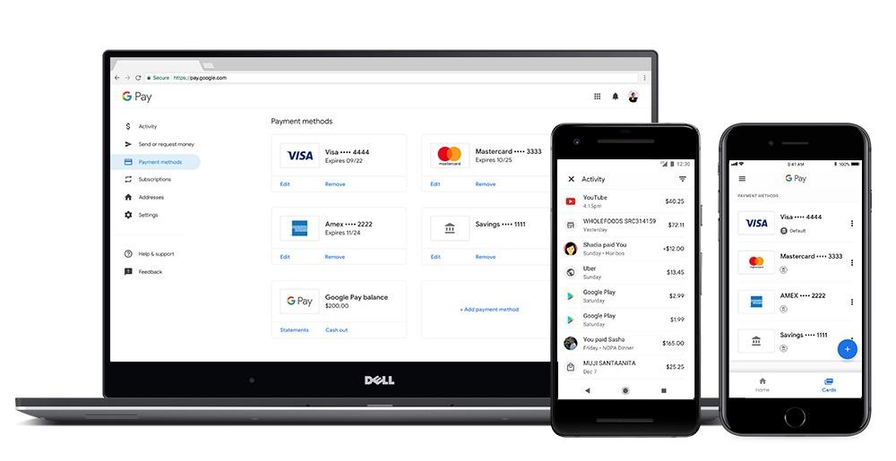 Google Pay Apercu Web