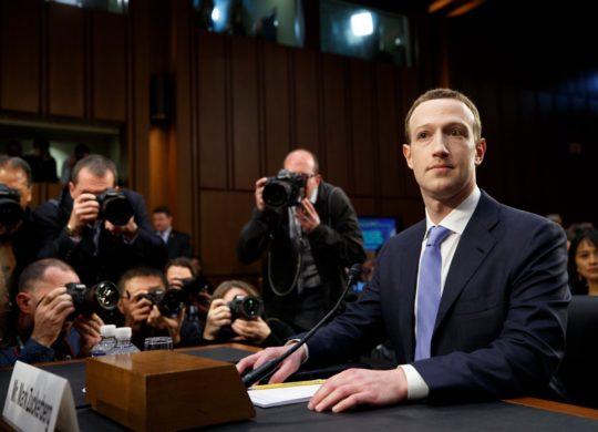 Mark Zuckerberg Congres Americain