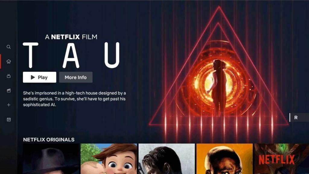 Netflix Nouvelle Interface TV 1024x576