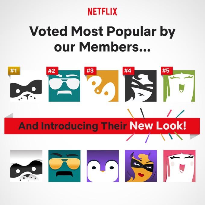 Netflix Nouvelles Photos Profils