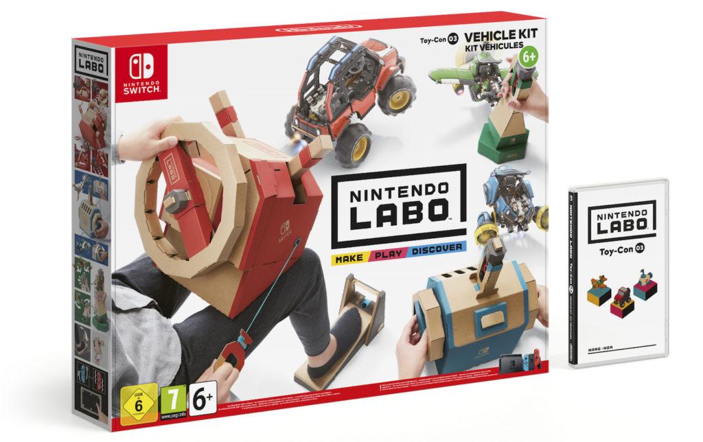 Nintendo Labo Kit Vehicules 1024x644