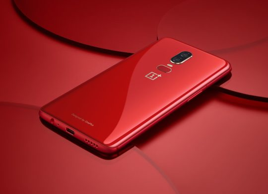 OnePlus 6 Rouge Arriere